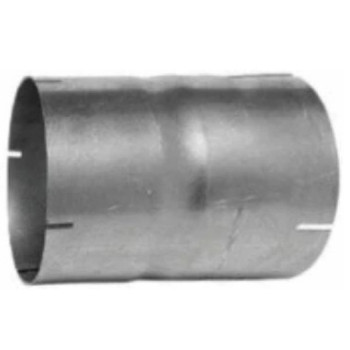 "2.25"" Exhaust Connector ID-ID Aluminized 6"" Long"