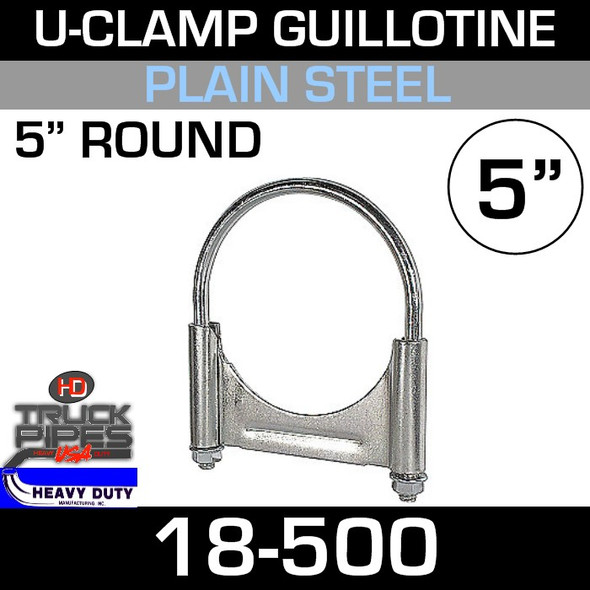 "5"" U-Clamp Guillotine Style 18-500"