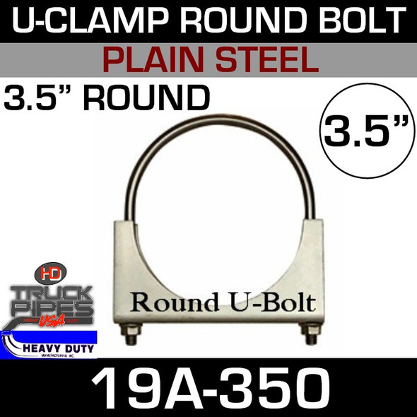 "3.5"" U-Clamp Round Band 19A-350"
