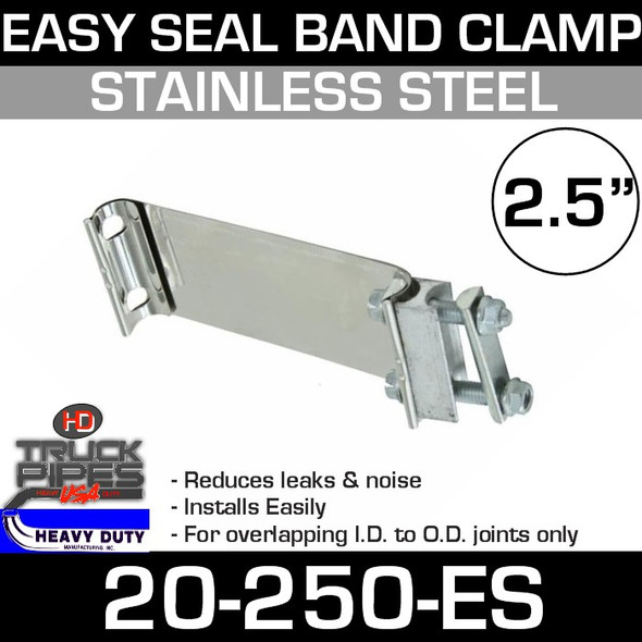 "2.5"" Band Clamp Easy Seal 20-250-ES"