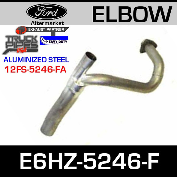 """Ford Replacement Exhaust Pipe 19.01"""" E6HZ-5246-F"""