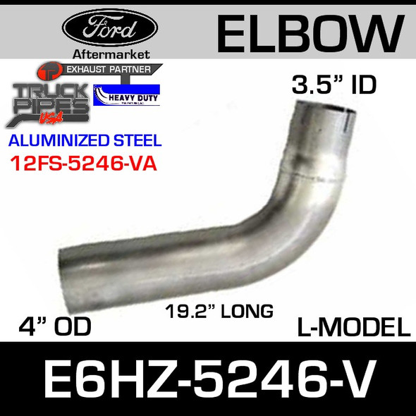 """Ford Replacement Exhaust Pipe 19.42"""" E8HZ-5246-V"""