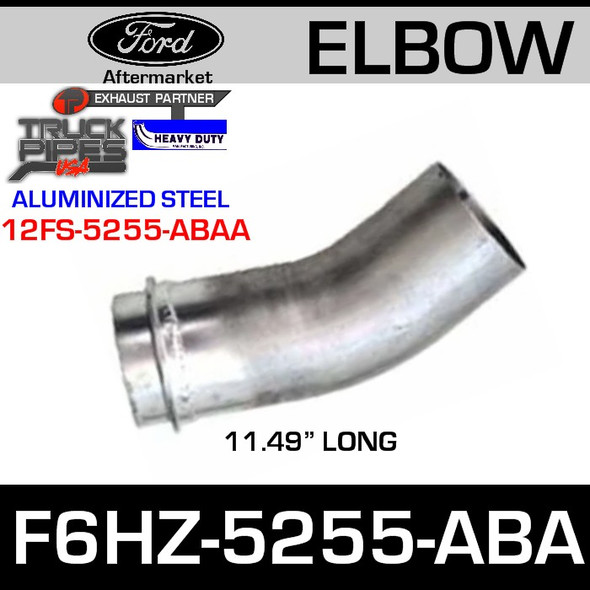 """Ford Replacement Exhaust Pipe 11.49"""" F6HZ-5255-ABA"""