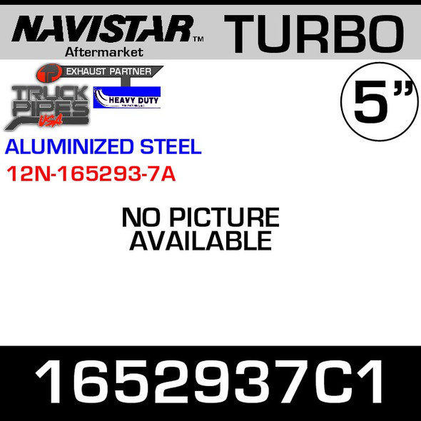 1652937C1 Navistar Turbo Exhaust Elbow ALZ 12N-165293-7A