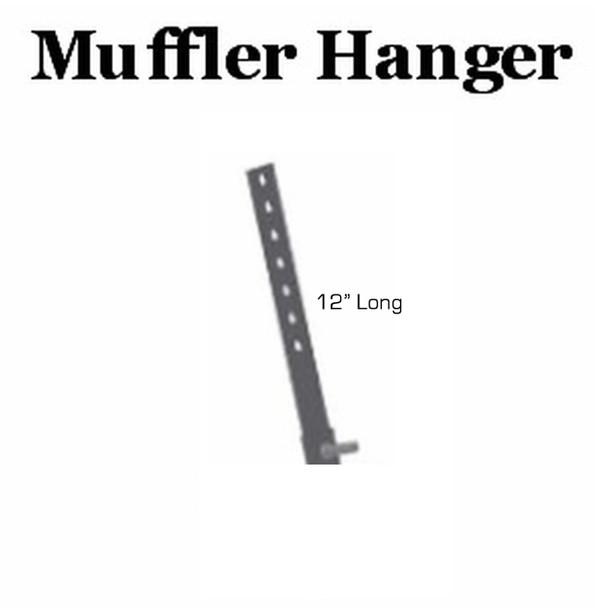 """12"""" Long Muffler Exhaust Hanger H-12"""