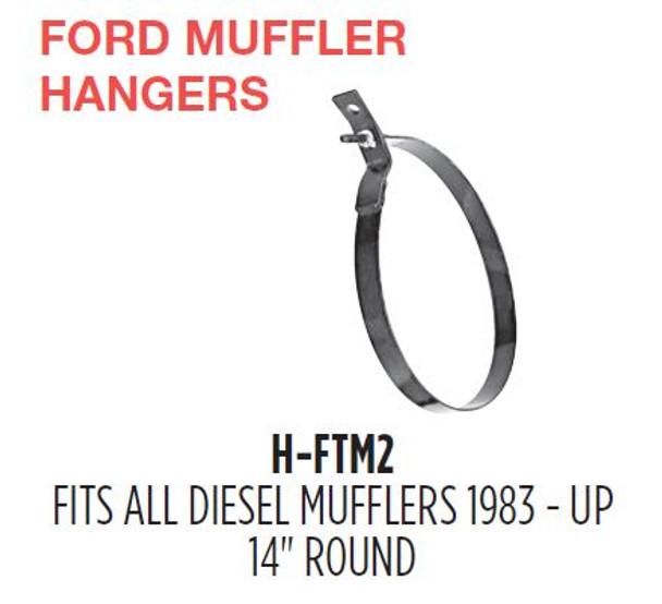 """14"""" Heavy Duty Ford Muffler Hanger H-FTM2"""