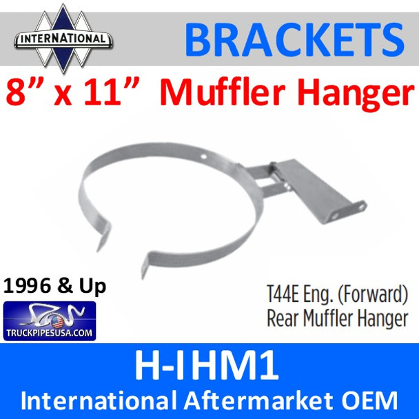 "1660540C1 T44E 8"" x 11"" Rear Muffler Hanger International H-IHM1"