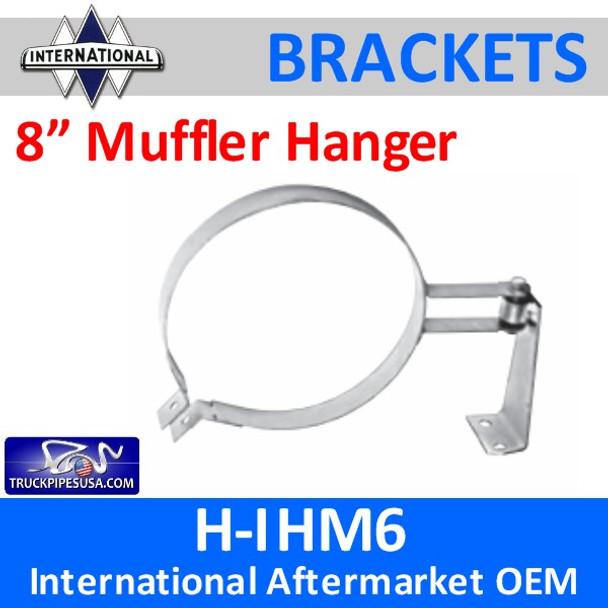 "1660539C91 8"" HD Muffler Hanger International H-IHM6"