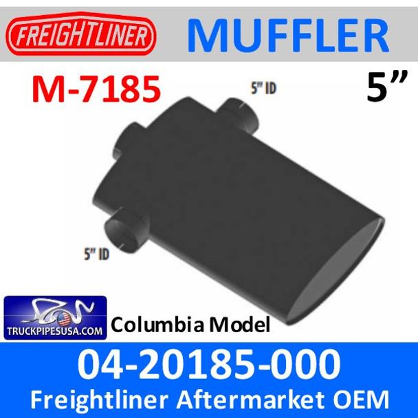 "04-20185-000 Freightliner Truck Muffler 8"" x 20"" M-7185"