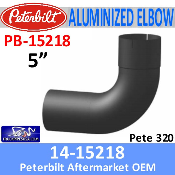 14-15218 Peterbilt 320 Exhaust Intermediate Pipe PB-15218