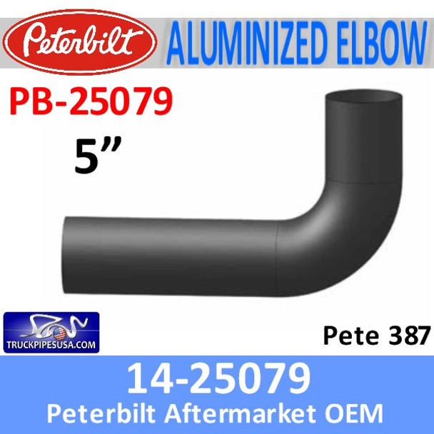 14-25079 Peterbilt 387 Exhaust Elbow PB-25079