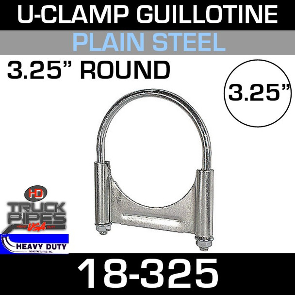 "3.25"" U-Clamp Guillotine Style 18-325"
