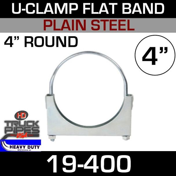"""4"""" U-Clamp Flat Band 19-400"""