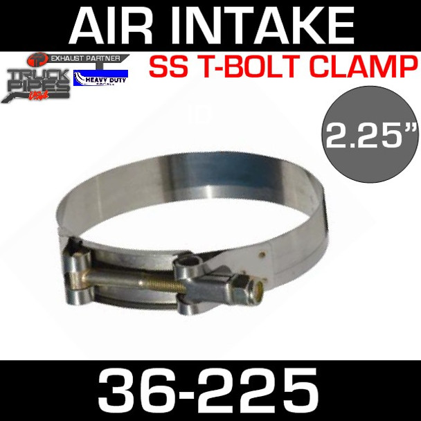 """2.25"""" Air Inlet Clamp - T-Bolt Style 36-225"""