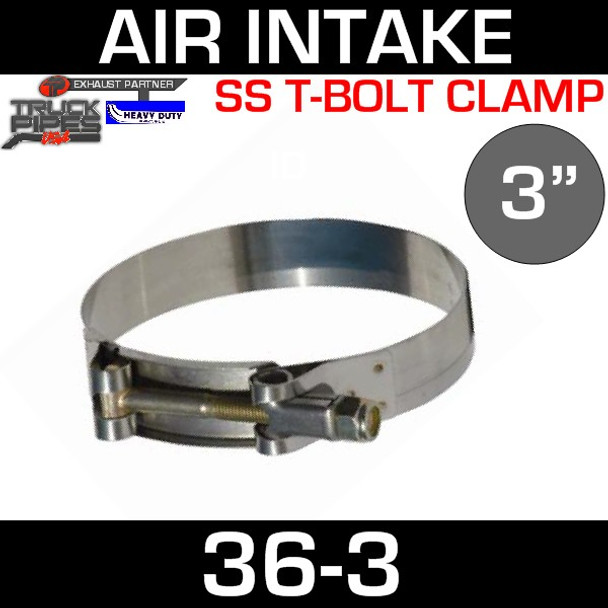 """3"""" Air Inlet Clamp - T-Bolt Style"""