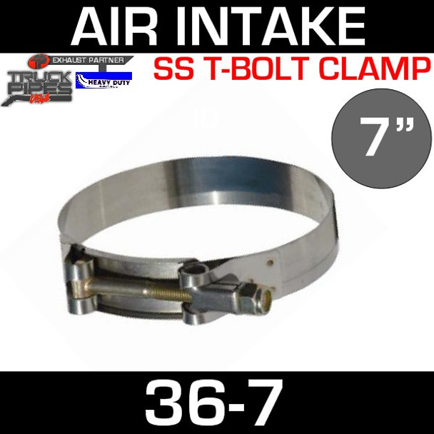 """7"""" Air Inlet Clamp - T-Bolt Style 36-7"""