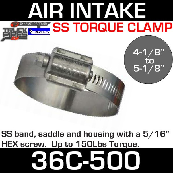 High Torque Clamp 4-1/4 - 5-1/8 36C-500