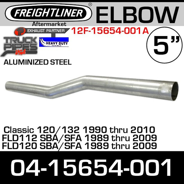 Freightliner FLD Intermediate Pipe Exhaust Elbow 04-15654-001
