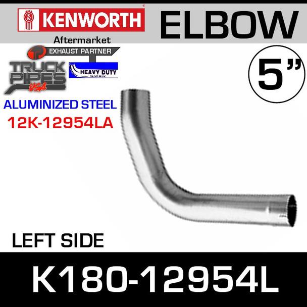 Kenworth Replacement LEFT Side Exhaust Elbow K180-12954L