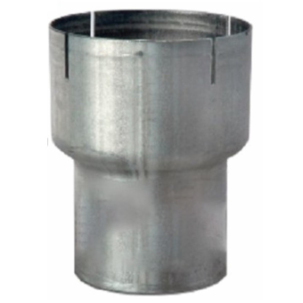 """5"""" ID to 4"""" OD Aluminized Exhaust Pipe Reducer RO540"""