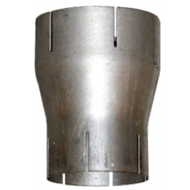 """Exhaust Reducer Aluminized 2.5"""" ID to 2"""" ID x 6"""" Long"""