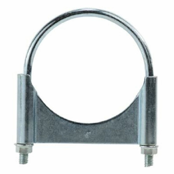 """3"""" Guillotine Round U-Bolt Exhaust Clamp Stainless Steel"""