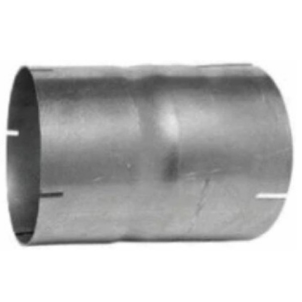"""2.25"""" Exhaust Connector ID-ID Aluminized 6"""" Long"""