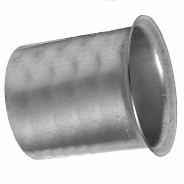 """5.88"""" Flared 409SS Turbo Reducing to 5""""OD for 60 Series DD/3406/C15"""