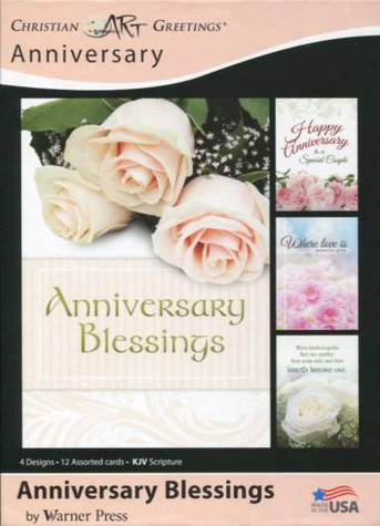 Religious wedding anniversary cards