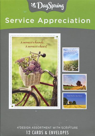 Service Appreciation Cards
