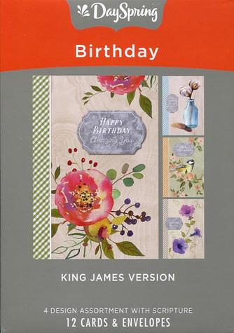 Dayspring Christian Birthday Cards