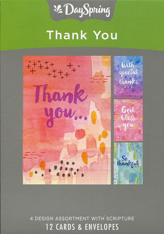 DaySpring Thank You Cards