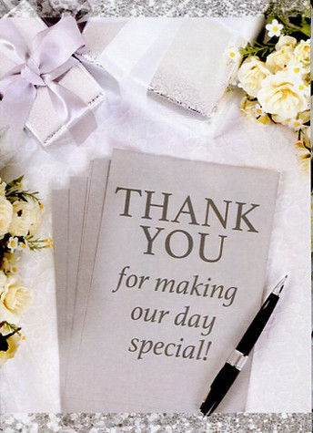 Wedding Thank You Notecards