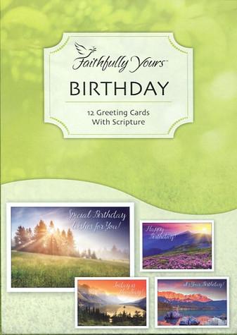 scenic religious birthday cards