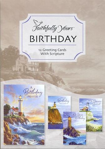 Lighthouse Birthday Cards