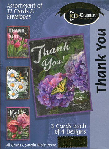 Thank You Boxed Cards