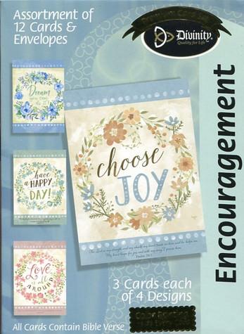 Choose joy encouragement cards