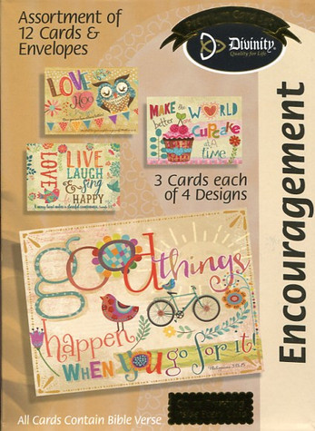 inspiring encouragement cards