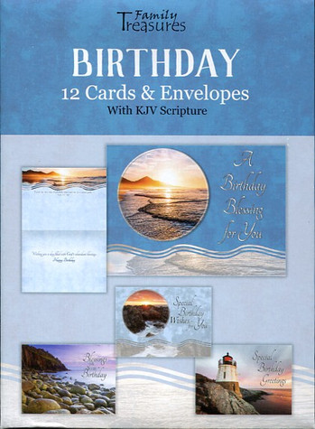 ocean view birthday cards
