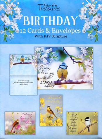 Songbird birthday cards