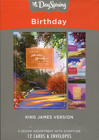 KJV birthday greeting cards