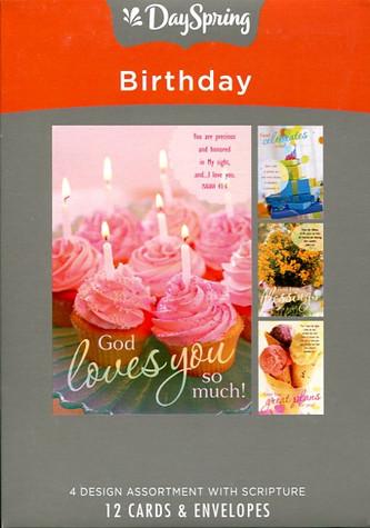 boxed dayspring birthday cards