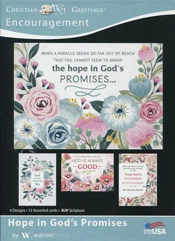Religious encouragement cards
