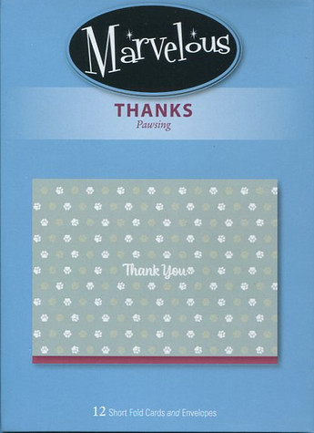 Thank You Cards - Pawsing