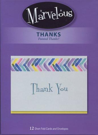 Short-fold thank you cards