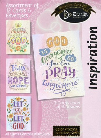 Inspiration encouragement cards
