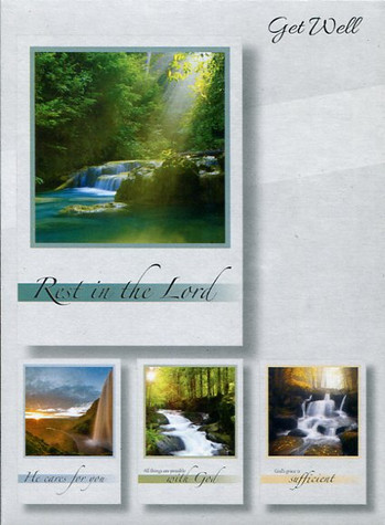 Waterfalls - Get Well Cards