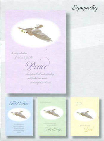Sympathy Christian Cards