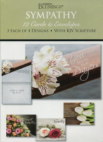spiritual sympathy cards