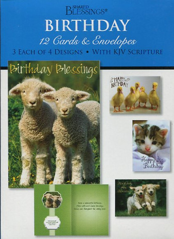 Christian boxed birthday cards